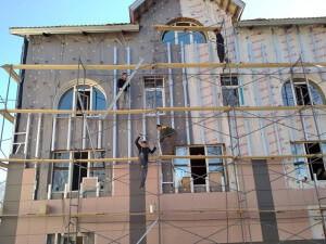 Реконструкция фасада гостиницы